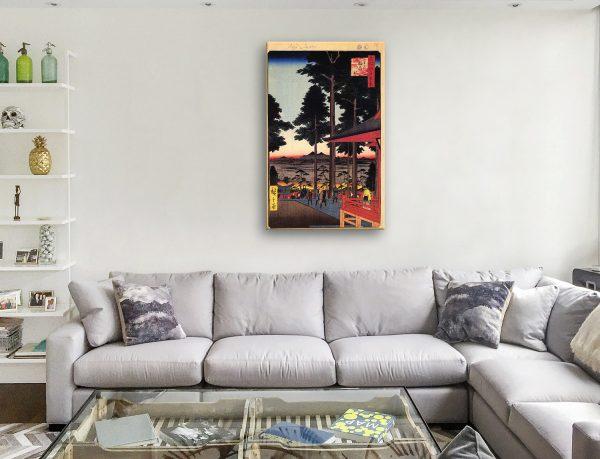 Buy Oji Inari Shrine Canvas Art Gift Ideas AU