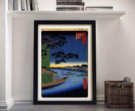 Buy Pine of Success Framed Japanese Canvas Art