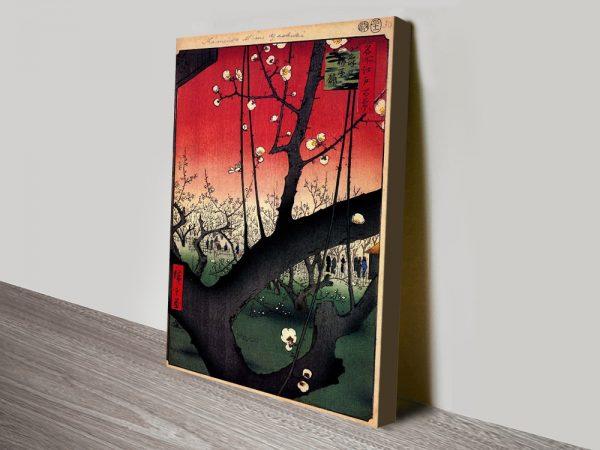 Buy Plum Estate-Kameido Hiroshige Prints Online