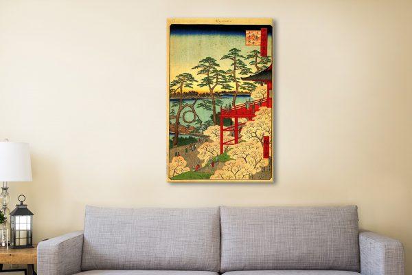 Buy Shinobazu Pond Hiroshige Art Great Gifts AU