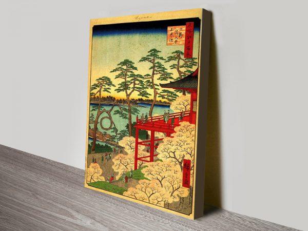 Buy Shinobazu Pond Japanese Wall Art Cheap Online