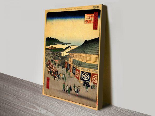 Buy Shitaya Hirokoji Cheap Hiroshige Artwork Online