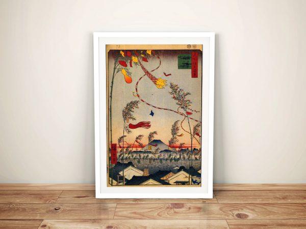 Buy Tanabata Festival Hiroshige Canvas Artwork