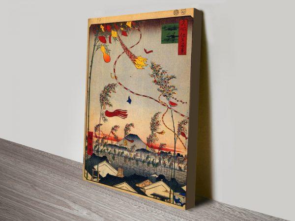 Buy Tanabata Festival Cheap Japanese Prints AU