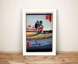Buy Otenyama - Shinagawa Japanese Wall Art