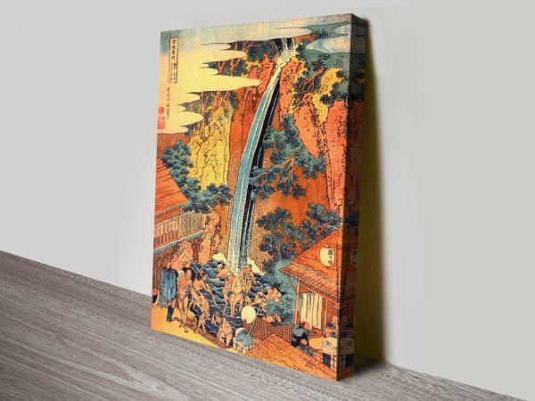 Buy Waterfalls in all Provinces II Cheap Japanese Wall Art AU