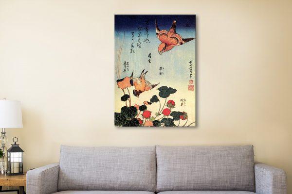 Buy Wild Strawberries & Birds Cheap Wall Art