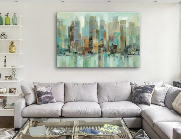 Morning Reflections Silvia Vassileva Canvas Artwork