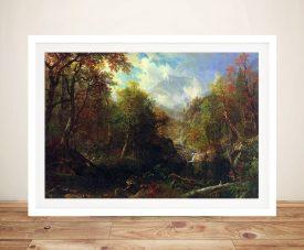 Buy The Emerald Pond Framed Canvas Artwork
