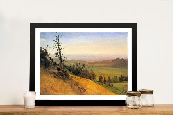 Buy Wasatch Mountains Nebraska Framed Artwork