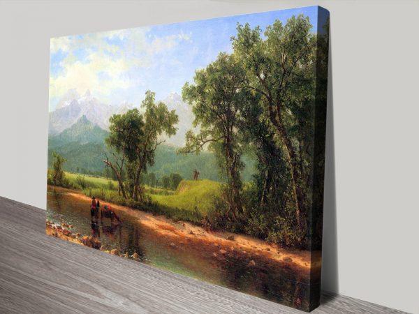 Wind River Mountains Cheap Landscape Wall Art