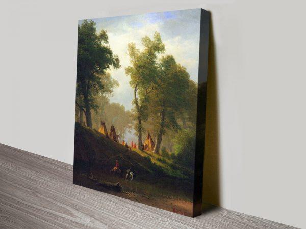 Buy Wolf River Kansas Cheap Wall Art Online