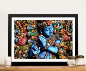 Lord Krishna Wall Art Poster Online