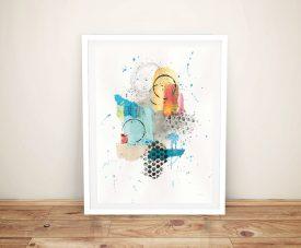 Buy a Framed Print of Abstract Skyline ll