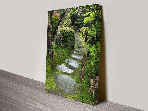 Buy Path of Serenity Spiritual Art Canvas