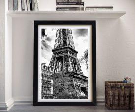 Buy La Tour Eiffel Framed Canvas Wall Art Print