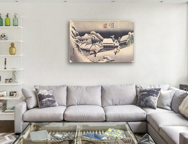 Buy Kanbara Japanese Art Prints Unique Gift Ideas AU