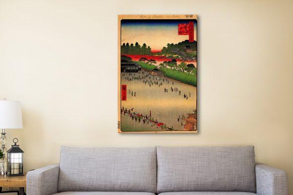 Buy Hiroshige Japanese Wall Art Perfect Gifts AU
