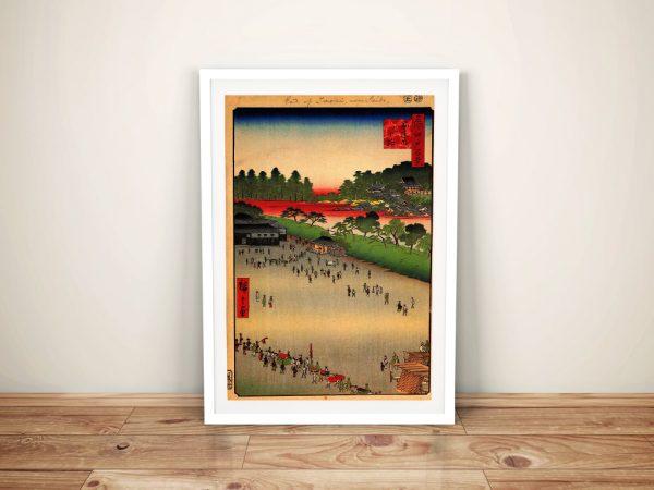 Buy a Canvas Print of Yatsukoji - Inside Sujihai Gate