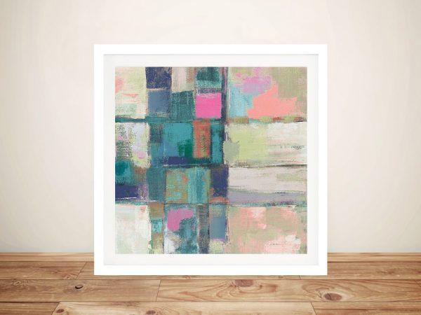 Buy an Abstract Canvas Print of Island Hues ll