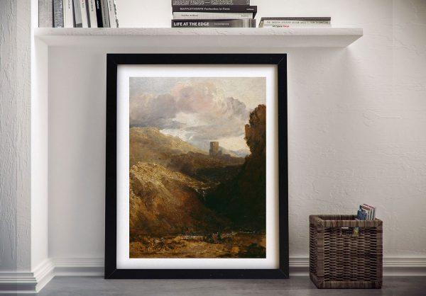 Buy Dolbadarn Castle Turner Classic Wall Art