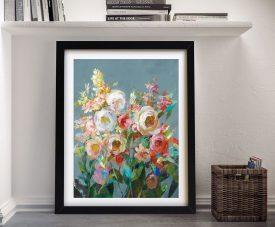 Buy a Framed Canvas Print of Joy of the Garden l