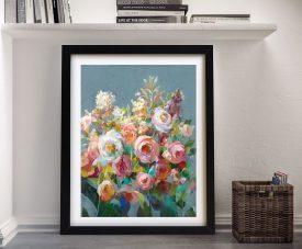 Buy Joy of the Garden ll Framed Canvas Wall Art