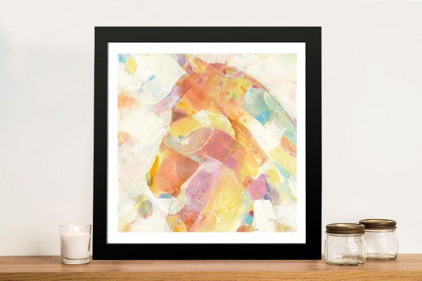 Buy a Colourful Print of Kaleidoscope Horse II