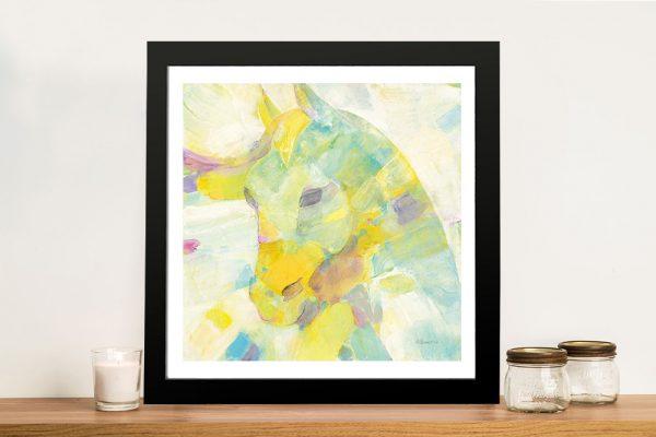 Buy Kaleidoscope Horse III Framed Canvas Wall Art