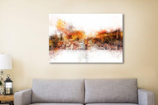 Buy The Skyline Wall Art Unique Gift Ideas AU