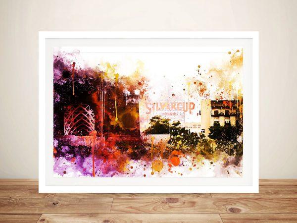 Buy Silvercup Studios a Framed Canvas Print