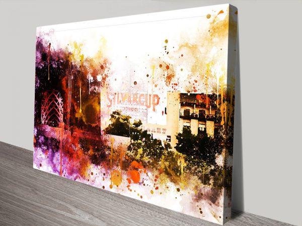 Buy Silvercup Studios Wall Art by Philippe Huggonard