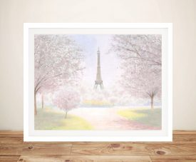 Buy a James Wiens Framed Print of Pretty Paris