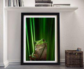 Buy Frog Framed Wall Print