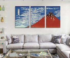 Buy Red Fuji Southern Wind 3-Panel Set