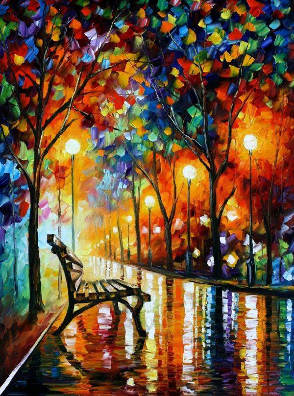 Buy Leonid Afremov Canvas Print Australia