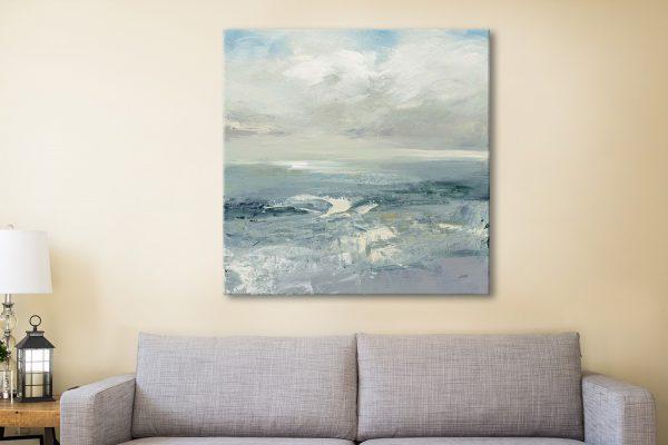 Buy Julia Purinton's Waves Seascape Canvas Artwork