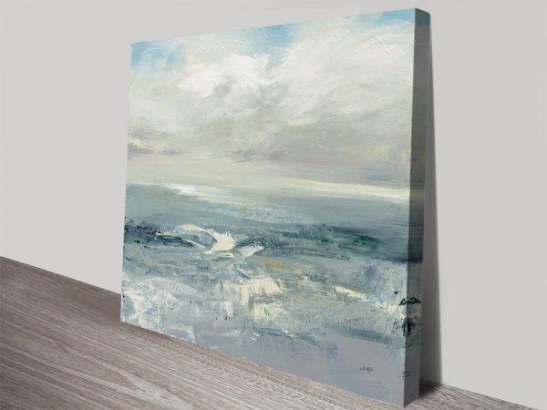 Buy Waves Modern Surf Canvas Art Prints