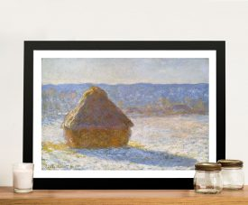 Buy Haystack in the Morning Classic Monet Prints