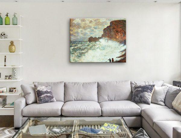 Buy Rough Weather at Étretat Cheap Classic Prints AU