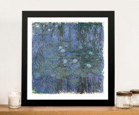 Buy Water Lilies a Classic Art Print by Claude Monet