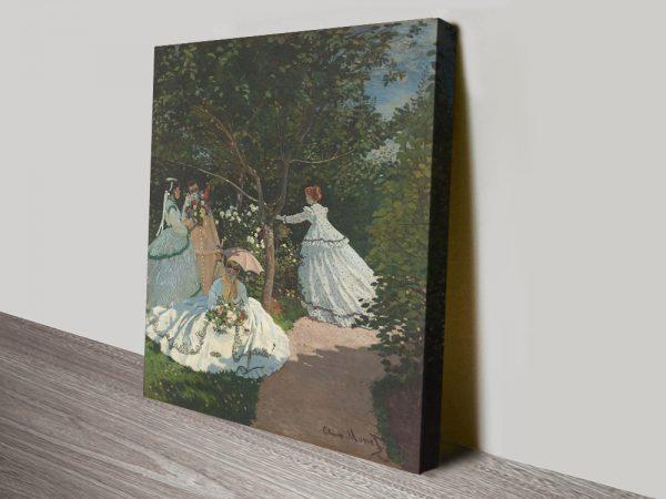 Buy Women in the Garden Classic Monet Prints Cheap Online