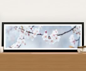 Buy Dream Blossoms Framed Floral Panoramic Wall Art