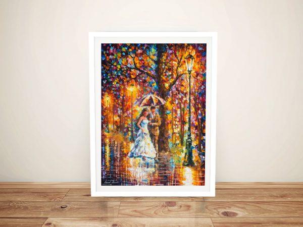 Buy Dream Wedding Leonid Afremov Framed Art