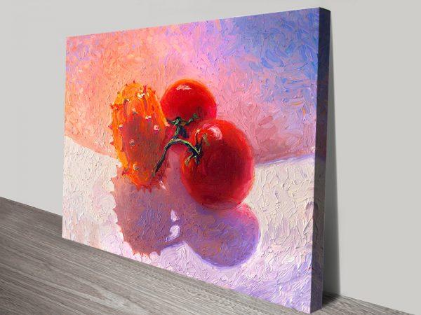 Buy Fruit Bowl Cheap Iris Scott Canvas Art Online