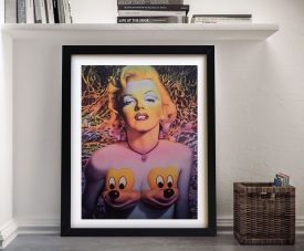 Marilyn Ron English Wall Art