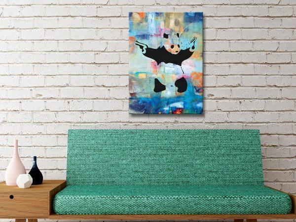 Buy Colourful Banksy Art Great Gift Ideas Online