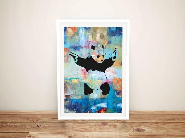 Buy Panda Summer of Love Banksy Canvas Street Art