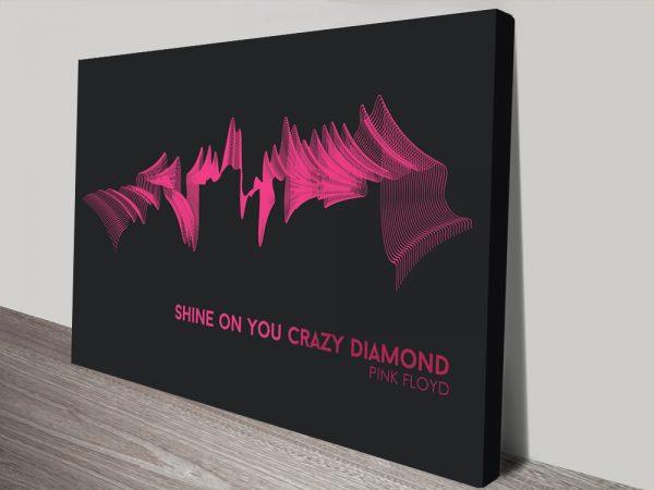 Buy Affordable Pink Floyd Soundwave Wall Art AU