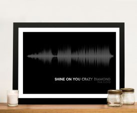 Buy Pink Floyd Soundwave Canvas Art Prints